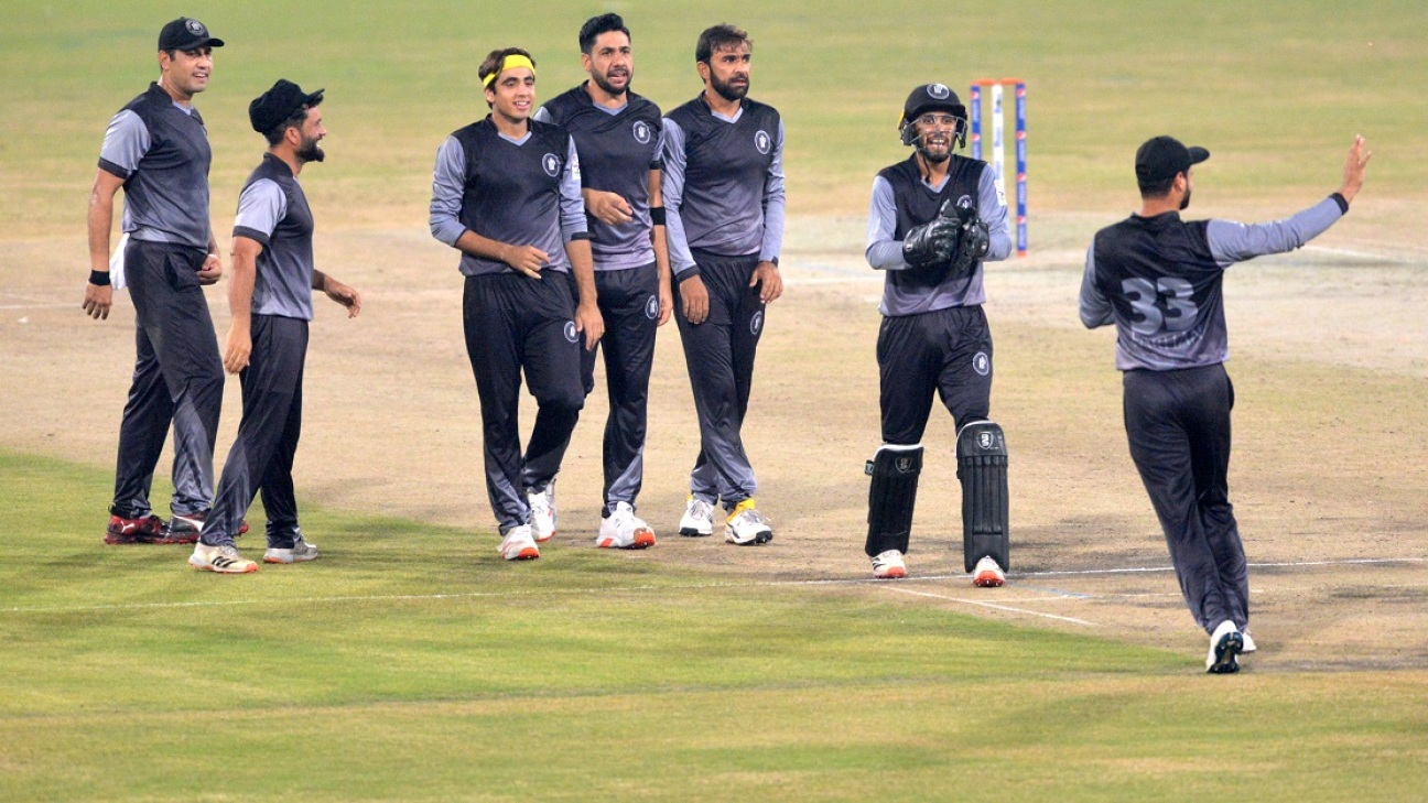 Iftikhar Ahmed took three wickets for five runs as Central Punjab collapsed
