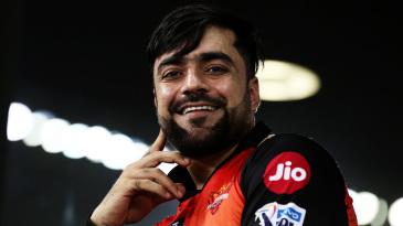 Rashid Khan smiles