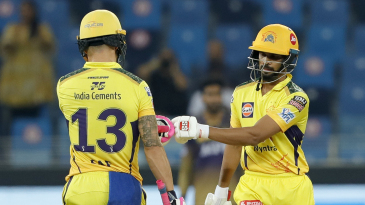 Ruturaj Gaikwad and Faf du Plessis gave Super Kings another great start