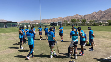 England travel to Dubai on Saturday after a training camp in Oman