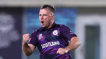 Chris Greaves picked up the wickets of Shakib Al Hasan and Mushfiqur Rahim