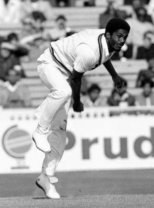 Michael Holding: the only West Indian to take 14 wickets in a Test