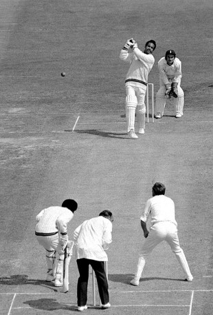 Garry Sobers on his way to 150*, his final Test hundred, England v West Indies, Lord's, August 24 1973