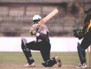 Dulip Samaraweera saves Colts CC with an unbeaten 81 runs against SSC in the Premier Limited Over Tournament 2000 finals
