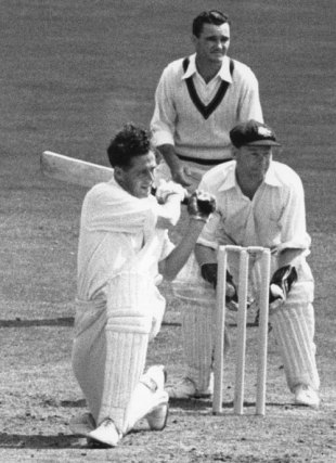 Trevor Bailey: batted on and on and on... but all in vain