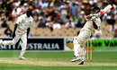 Ricky Ponting pulls Marlon Black during his innings of 92, Australia v West Indies, 3rd Test Adelaide, 3rd day, December 17, 2000