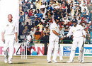 India v England, 1st Test match, Day Four, Punjab C.A. Stadium, Mohali, Chandigarh, 3-7 Dec 2001