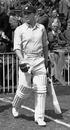 Cyril Washbrook walks out to bat, Old Trafford, June 29, 1949