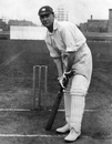 Jack Hobbs at the crease in 1930