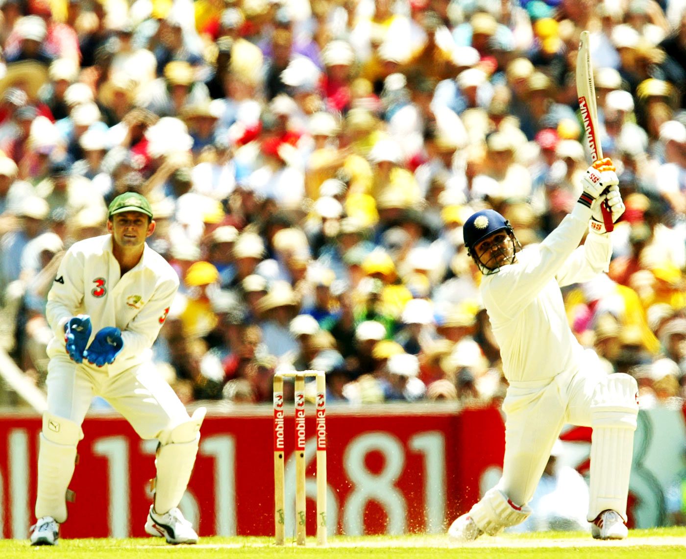 Virender Sehwag opened proceedings in 2003 with a fizz 'n pop