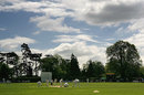 A general view of Whitchurch County Cricket Club during the C&G Trophy match between Shropshire and Hampshire, May 4, 2005