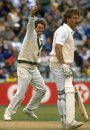 Terry Alderman removes Ian Botham, 1989 Ashes