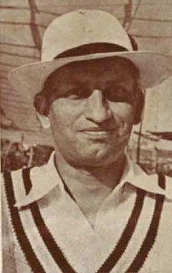 Mushtaq Ali, portrait