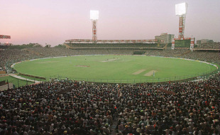 Eden Gardens during the World Cup semi-final, India v Sri Lanka, 1st semi-final, Kolkata, March 15, 1996