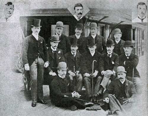 The first MCC side to tour South Africa 1888-89