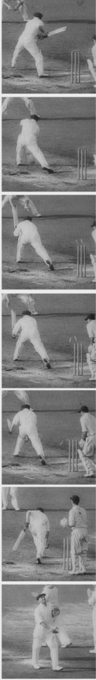 For eveything he achieved in his career, Bradman could not go out with a bang