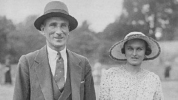 Douglas Jardine with his wife