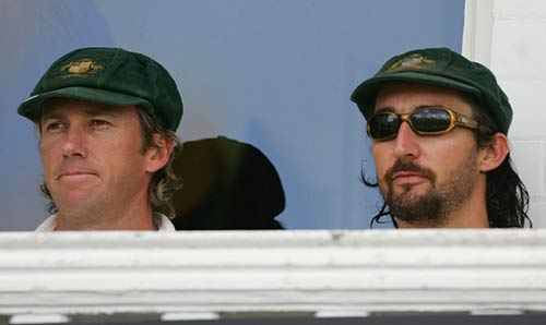 Glenn McGrath and Jason Gillespie miss out on the Fourth Test