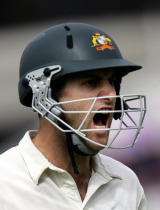 Simon Katich was a little upset