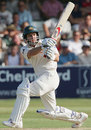Brad Hodge strikes through midwicket on his way to 166 against Essex, Essex v Australia, Chelmsford, September 4, 2005