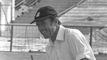 Geoffrey Boycott prepares for his first Test as captain of England