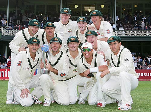 Australia: incredible Test record between 1999 and 2007