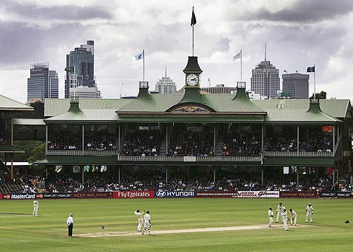 A view of the Sydney Cricket Ground, Australia v World XI, Super Test, Sydney, 4th Day, October 17, 2005