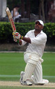 Naeem Ashraf scored a rapid 96 for KCC at the Hancock Shield 2005