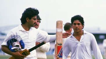 Sachin Tendulkar saved India from defeat with his maiden Test century