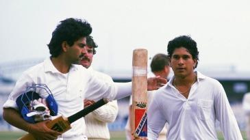 Sachin Tendulkar saved India from defeat with his maiden Test century