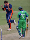 Cliffe Deacon celebrates Imraan Khan's wicket, Dolphins v Eagles, Durban, December 21, 2005