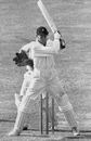 Alan Melville on his way to a hundred, England v South Africa, Trent Bridge, June 8, 1947