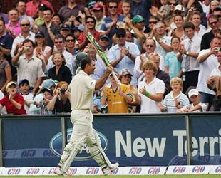 Ricky Ponting's twin centuries in his 100th Test, against South Africa at the SCG, were part of his fabulous run between 2002 and 2006