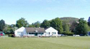 A general view of the pavilion at Abergavenny