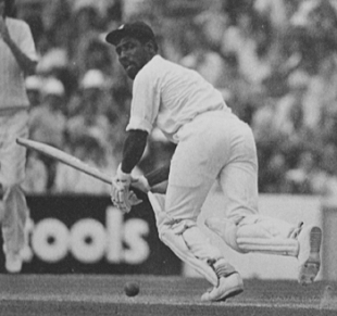 Viv Richards ploughes on and on ... finishing with 291, England v West Indies,  The Oval, August 1976