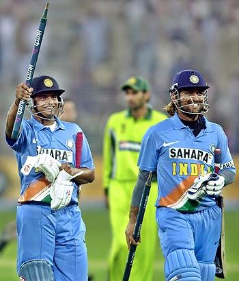 Suresh Raina and Mahendra Singh Dhoni return triumphant ...