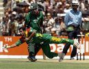 Alok Kapali shows his athleticism in the field, Bangladesh v Kenya, 2nd ODI, Khulna, March 20, 2006