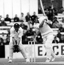 Dennis Amiss drives on his way to 108, England v Australia, 3rd ODI, The Oval, June 6, 1977
