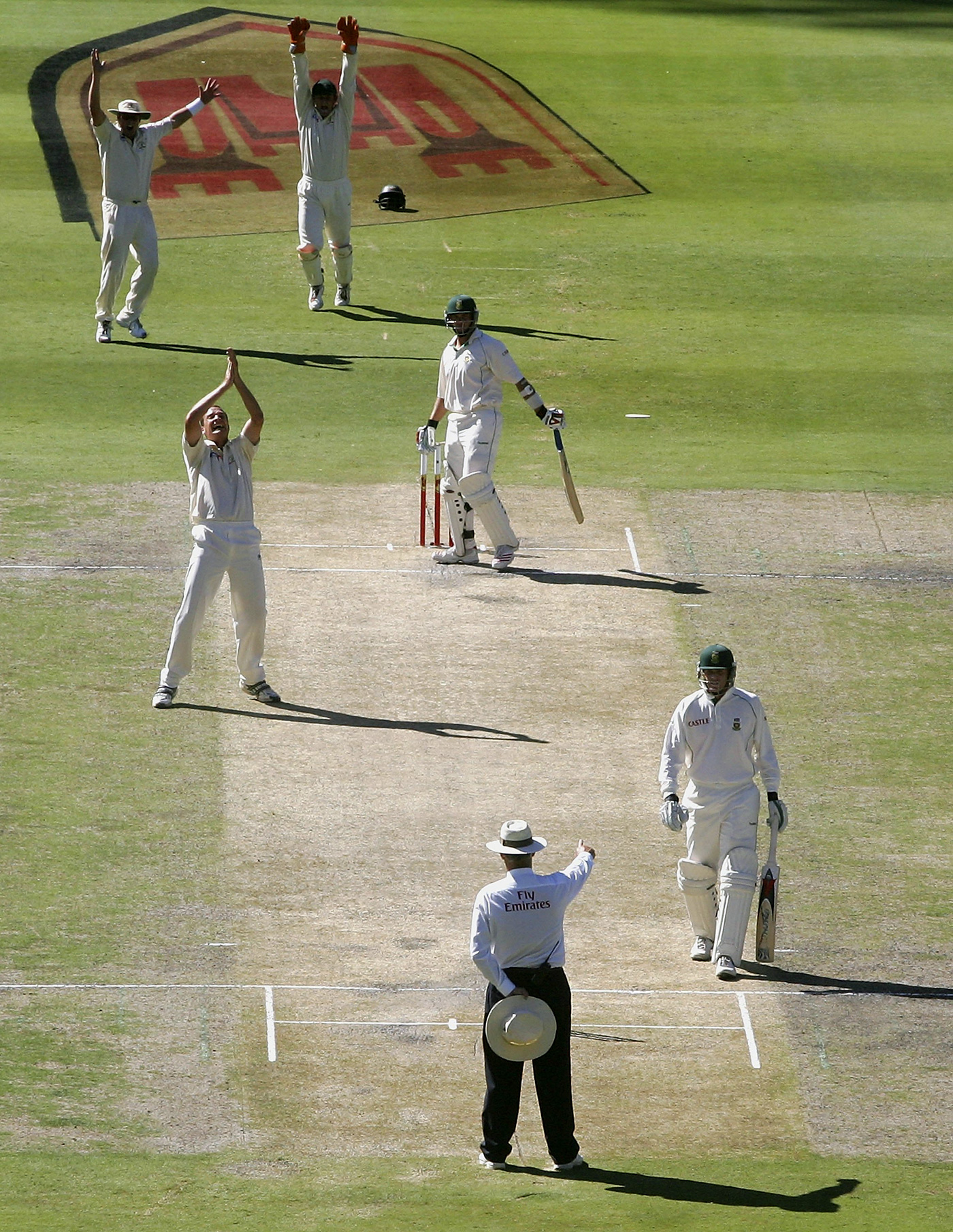 Stuart Clark nailed Jacques Kallis four times in the 2005-06 series in South Africa