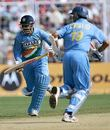 Yuvraj and Pathan make merry in the sun