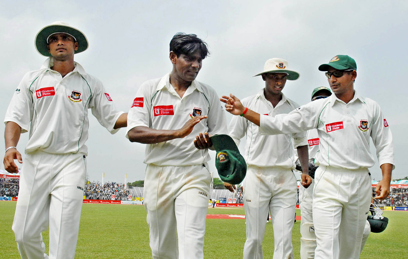 Rafique to the rescue: whenever Bangladesh needed a breakthrough, Mohammad Rafique was the one they turned to