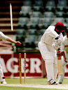 Brian Lara is cleaned up by a beauty from Shaun Pollock, South Africa v West Indies, 1st  Test, Johannesburg, November 26, 1998
