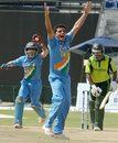 Dinesh Karthik and Reetinder Sodhi combine to dismiss Mohammad Hafeez, India A v Pakistan A, EurAsia Series, Abu Dhabi, May 5, 2006
