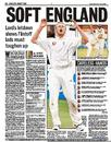 The press reacted badly to the draw at Lord's but England are still big favourites to win the series