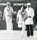 Fred Titmus ... still going after all these years, Middlesex v Derbyshire, Uxbridge, July 1980