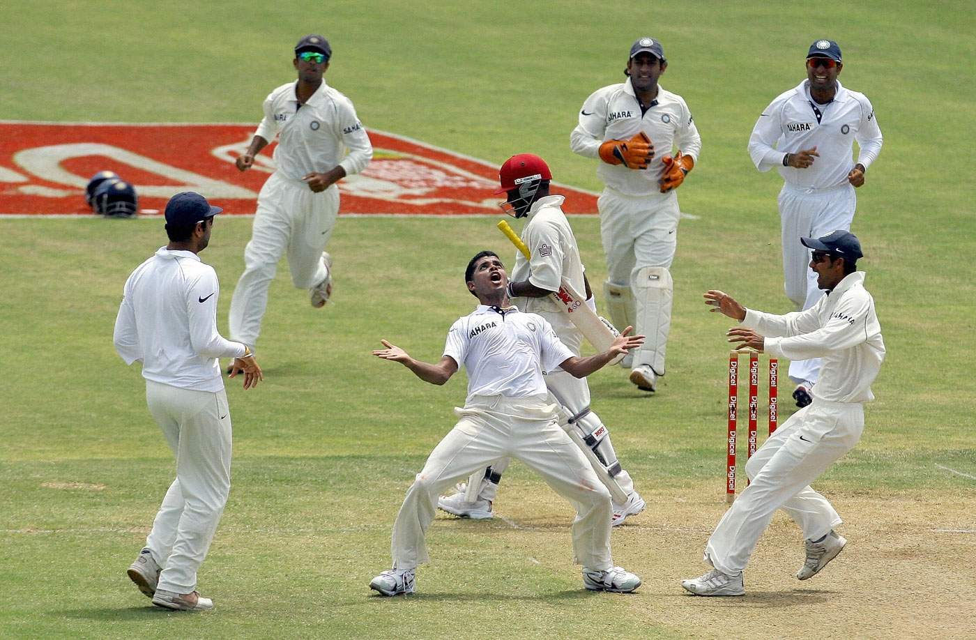 Lara who? Sreesanth had his fair share of prize scalps in Test cricket