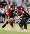 David Sales is castled by Richard Grant after scoring 51, Northamptonshire v Glamorgan, Twenty20 Cup, Northampton, July 7, 2006