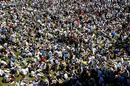 A packed Nursery ground during the lunch break at Lord's, England v Pakistan, 1st Test, Lord's, July 15, 2006