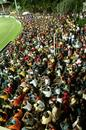 Packed stands as Antigua take to the field