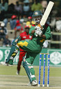 Farhad Reza on the attack on his way to 50, Zimbabwe v Bangladesh, 2nd ODI, Harare, July 30, 2006